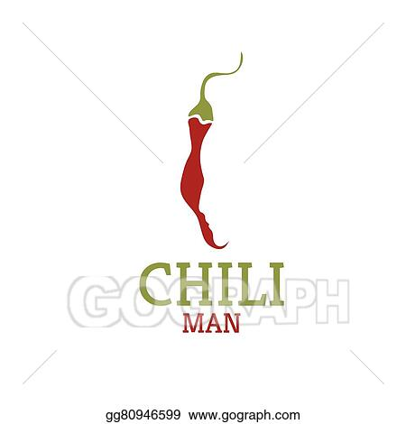 Vector Illustration - Hot chili pepper with face vector design ...