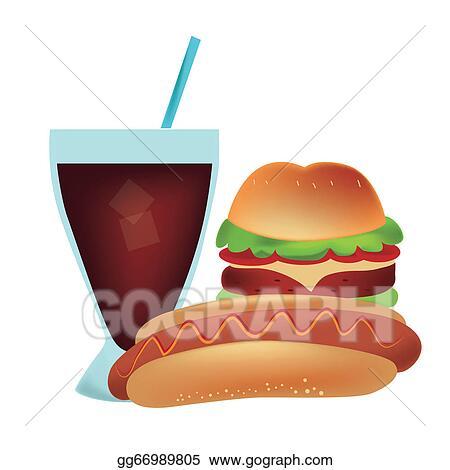 Hamburger Clipart Hamburger Hot Dog Clip Art - Png Download (#2341046) -  PinClipart