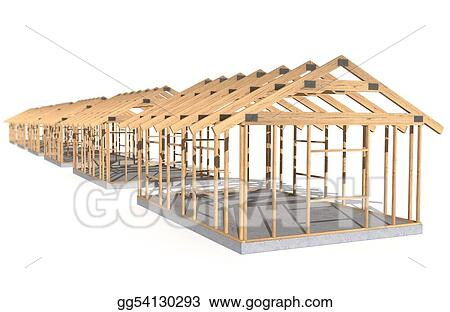 Stock Illustration - House frames. Clipart gg54130293 - GoGraph