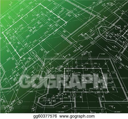 Vector clipart house plan on green background vector blueprint house plan on green background vector blueprint malvernweather Image collections