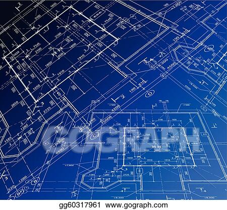 Blueprint clip art royalty free gograph vector blueprint malvernweather Image collections