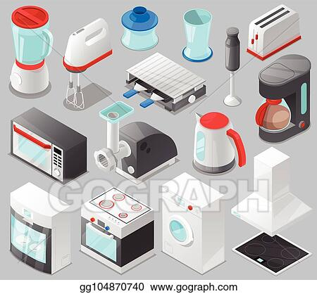 Vector Art Household Appliances Vector Kitchen