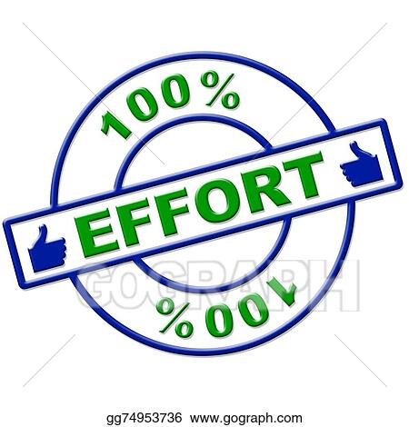 clip art hundred percent effort represents hard work and rh gograph com hard hat clip art work hard work pays off clipart