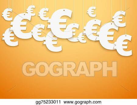 Clipart Hung Symbols Euro Stock Illustration Gg75233011 Gograph