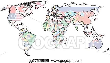Clip art hungary territory on world map stock illustration hungary territory on world map gumiabroncs Gallery