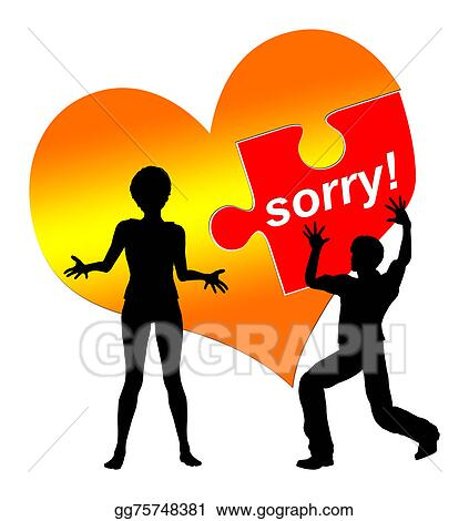 drawing i am sorry clipart drawing gg75748381 gograph rh gograph com sorry clipart free sorry clipart animated
