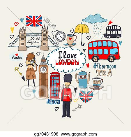 london clip art - royalty free - gograph