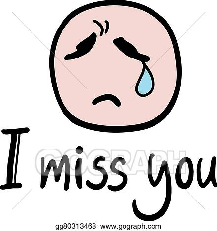 clip art vector i miss you message stock eps gg80313468 gograph rh gograph com we miss you clip art i miss you animated clip art