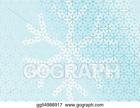 Eps Vector Ice Snow Xmas Winter Mosaic Abstract Mosaic