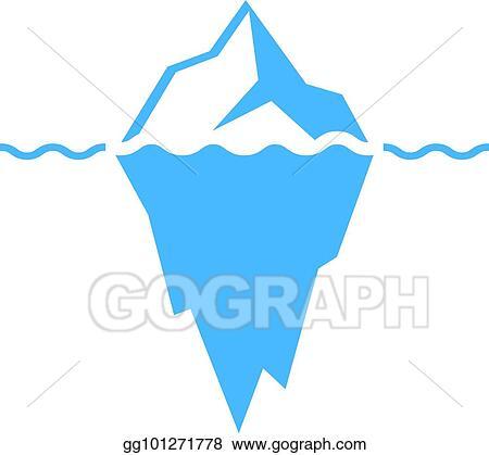 clip art vector iceberg vector icon stock eps gg101271778 gograph https www gograph com clipart license summary gg101271778