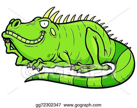 vector illustration iguana stock clip art gg72302347 gograph rh gograph com iguana clip art template iguana clip art black and white