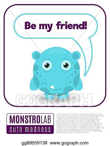 Be My Friend Clip Art