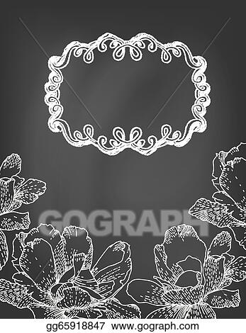 Floral chalkboard clipart wedding clipart Digital Wreath | Etsy | Chalkboard  clipart, Clip art, Wedding clipart
