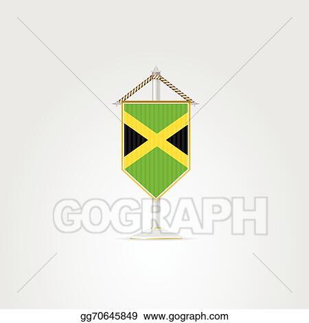 Vector Illustration Illustration Of National Symbols Of Caribbean