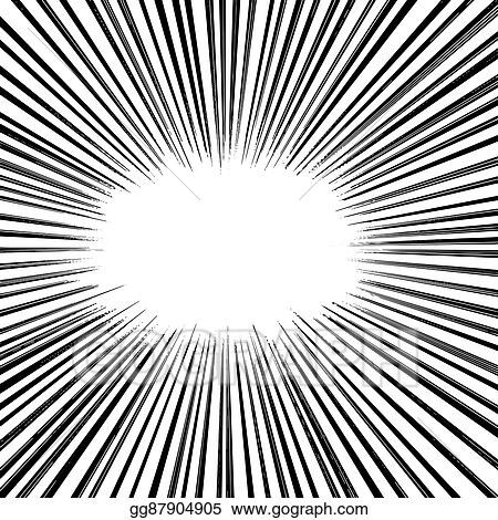 Vector Art Illustration Vector Abstract Manga Speed Motion