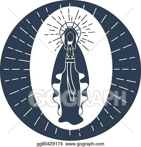 Vector Art Immaculate Conception Of The Virgin Mary Clipart