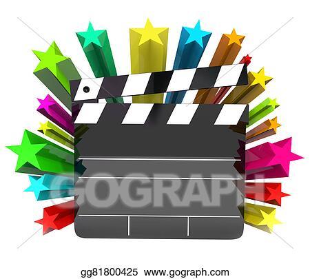 Movie Film Drawing