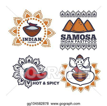 Indian Food Samosa Clipart