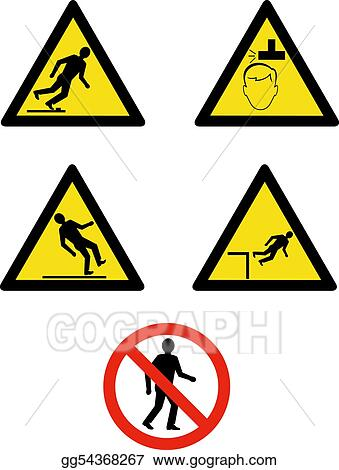 Stock Illustration Industrial Workplace Signs And Symbols Showing