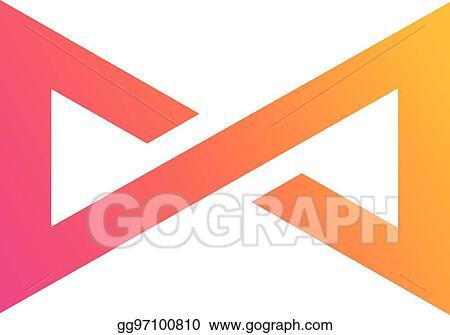 Vector Illustration Infinity Symbol Concept Design Eps Clipart