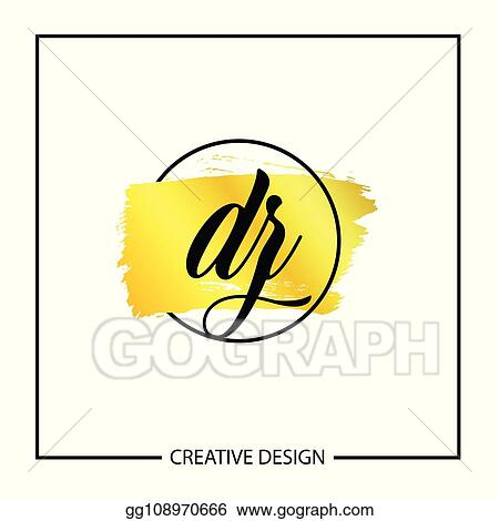 Vector Clipart - Initial letter dz logo template design