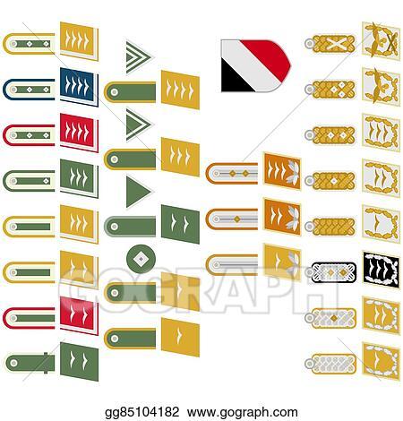 Clip Art Vector - Insignia german army  Stock EPS gg85104182 - GoGraph