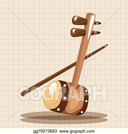 cartoon bass instrument