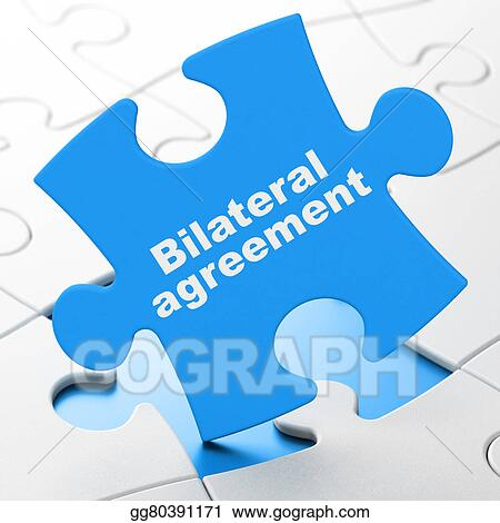 Stock Illustration Insurance Concept Bilateral Agreement On