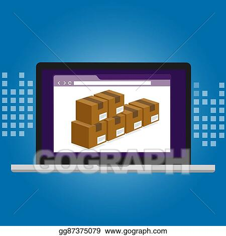 EPS Vector - Inventory management logistics system warehouse