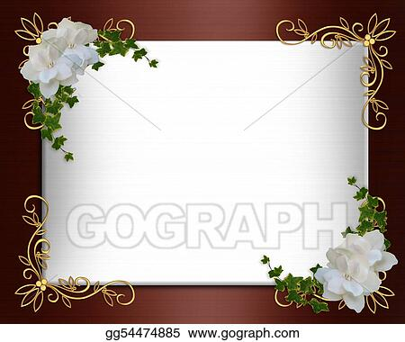 Stock illustration invitation border elegant burgundy satin stock invitation border elegant burgundy satin stopboris Image collections