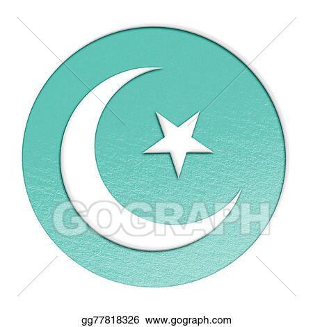 Stock Illustration Islam Symbol Illustration Clipart Gg77818326