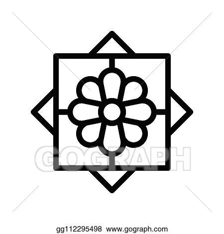 Vector Art Islamic Art Tile Vector Illustration Ramadan