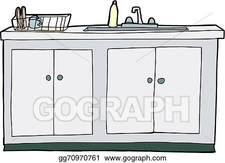 Outstanding Vector Stock Isolated Kitchen Sink Clipart Illustration Home Interior And Landscaping Ymoonbapapsignezvosmurscom
