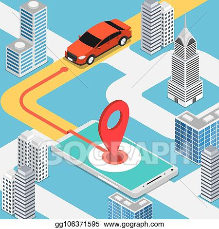 Car Moving Clipart
