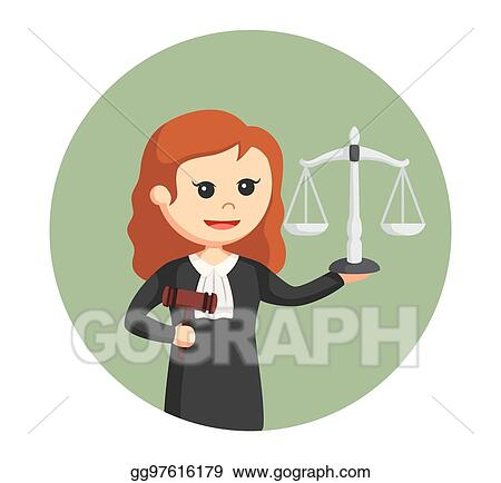 Afro Woman Judge avatar clipart with gavel and law book, print and cut –  MUJKA CLIPARTS