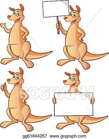 kangaroo clip art royalty free gograph