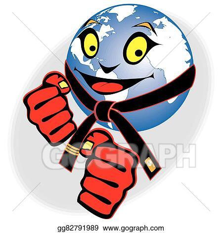Conflict Fists Clipart