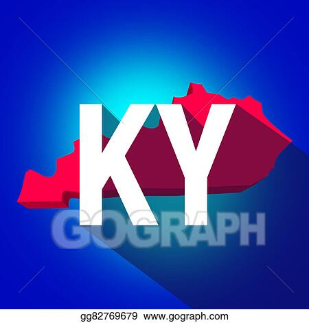 Stock Illustration - Kentucky ky letters abbreviation red 3d state on ky highway map, ky fish and wildlife map, ky area map, louisville ky city limits map, ky border map, ky phone map, lexington ky map, ky tennessee map, ky airport map, kentucky map, ky topographic map, illinois map, ky parks and maps, ky road maps driving directions, ky town map, ky co map, i-64 mile marker map, ky school district map, ky region map, ky county map,
