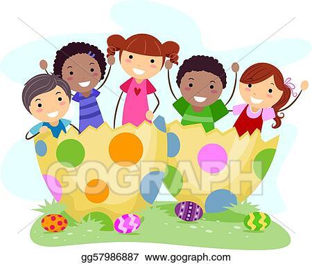 Preschool Easter Clipart