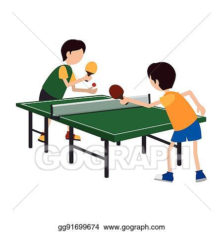 Kids Playing Ping Pong