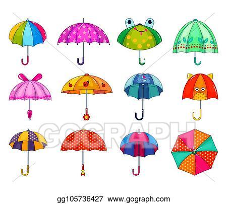 Dunia Belajar 1 Children With Umbrella Drawing