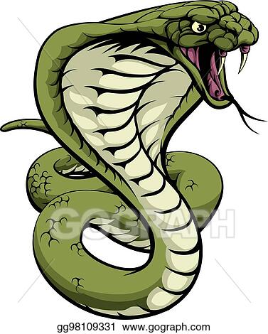 vector clipart king cobra snake vector illustration gg98109331