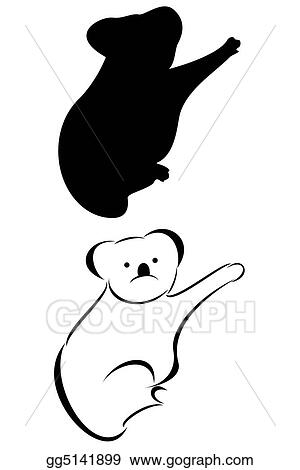 Clip Art Koala Bear Stock Illustration Gg5141899 Gograph
