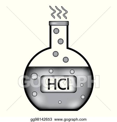 Vector clipart laboratory glass with hydrochloric acid sign icon laboratory glass with hydrochloric acid sign icon urtaz Gallery