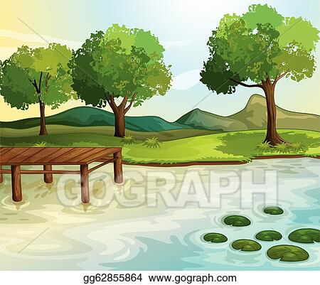 Lake Clip Art Royalty Free Gograph