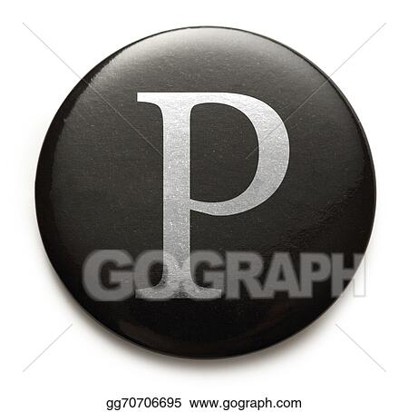 Stock Photo Latin Letter P Stock Photography Gg70706695 Gograph
