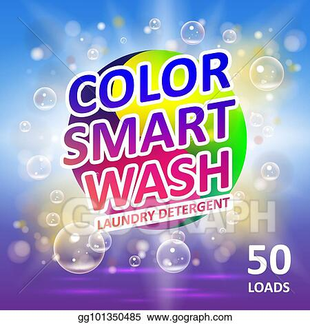 vector stock laundry detergent package ads creative soap smart