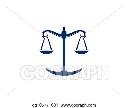 Vector Stock - Law firm logo vector template  Clipart Illustration