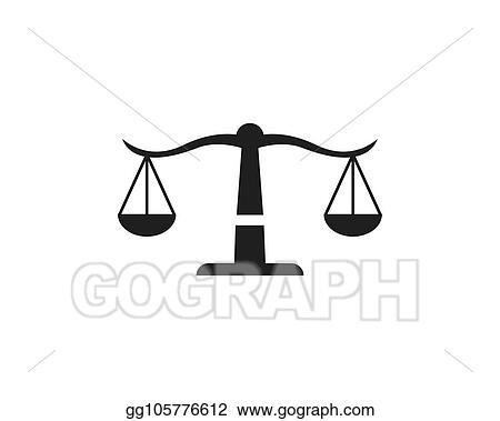 Vector Clipart - Law firm logo vector  Vector Illustration
