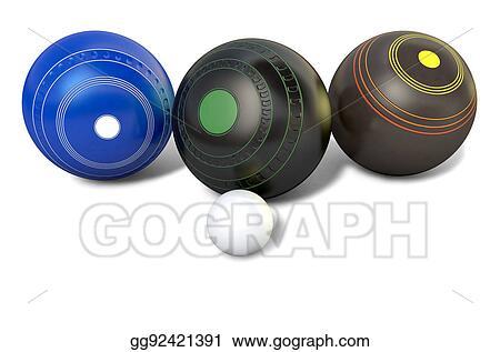 Lawn Bowls Vector - Download Free Vectors, Clipart Graphics & Vector Art
